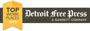 Detroit Free Press Top Workplace 2015