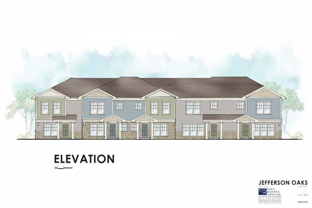 Jefferson Oaks elevation